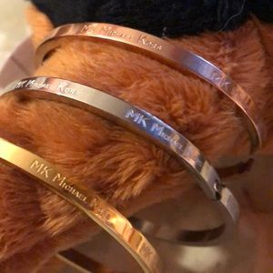 Michael Kors Bracelets Set of three. N W/O tags